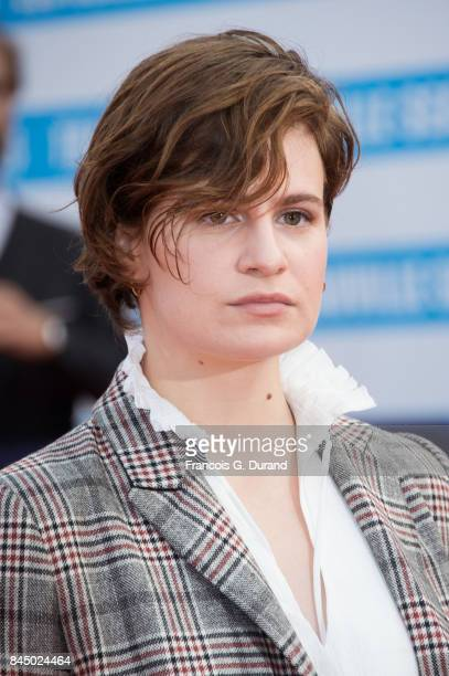 French singer Heloise Letissier aka Christine and The Queens arrives at the closing ceremony of the 43rd Deauville American Film Festival on...