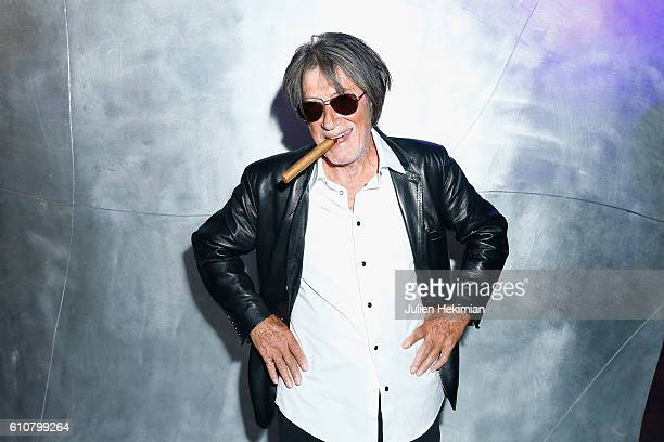 French Singer Jacques Dutronc attends the Etam after Party as part of the Paris Fashion Week Womenswear Spring/Summer 2017 on September 27 2016 in...