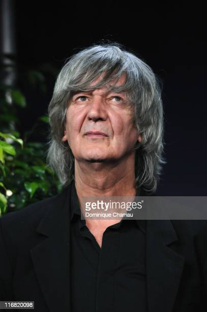 French Singer Jacques Higelin attends Festival Romantique de Cabourg on June 14 2008 in Cabourg France
