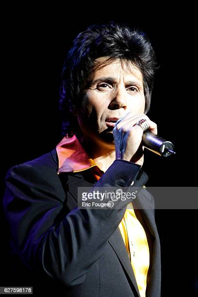 French singer JeanLuc Lahaye performs on stage at the Olympia concert hall