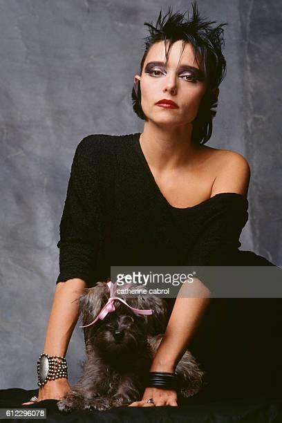 French Singer Jeanne Mas