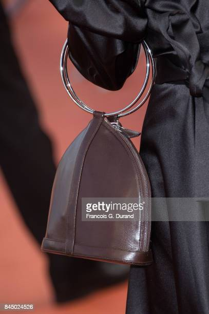 French singer Joyce Jonathan arrives at the closing ceremony of the 43rd Deauville American Film Festival on September 9 2017 in Deauville France