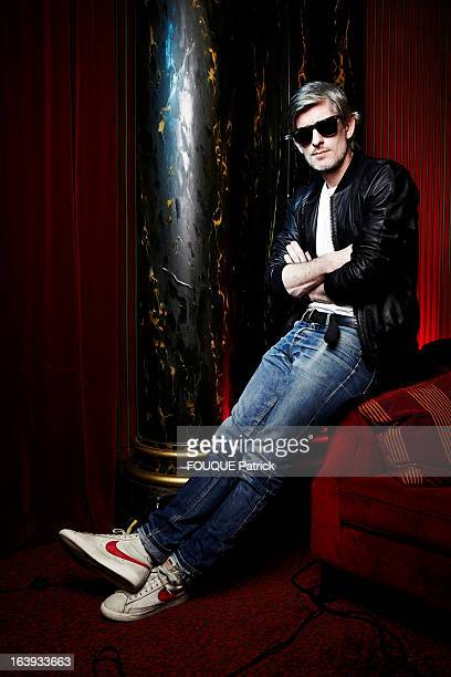 French Singer Kavinsky poses for a portrait on February 05 2013 in Paris France