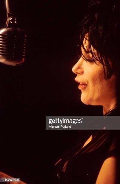 French singer Liane Foly London 1990