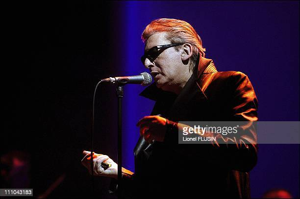 French Singer Maidi Roth Performs Live At The Bout Du Monde Geneva in Geneva Switzerland on May 24 2003