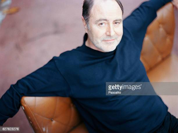 French singer Michel Delpech