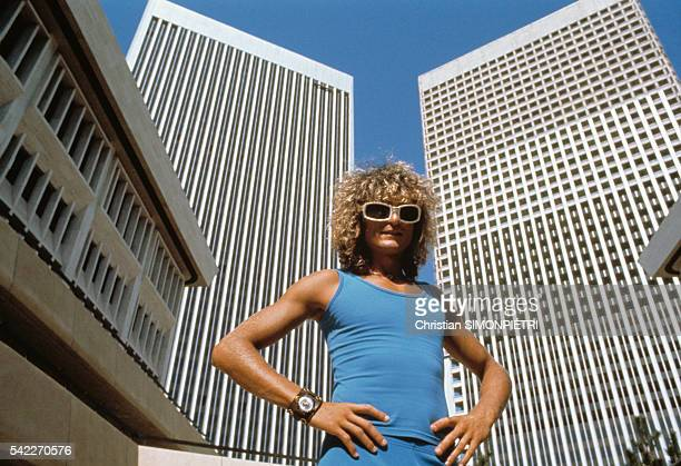 French Singer Michel Polnareff in Los Angeles