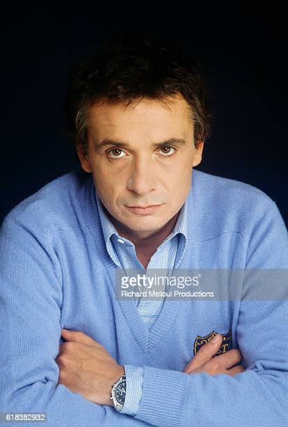 French Singer Michel Sardou