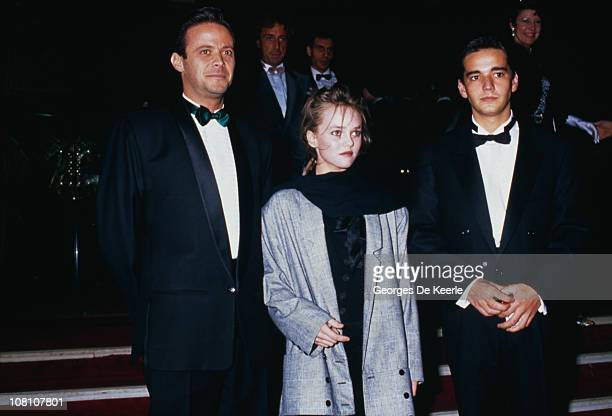 French singer model and actress Vanessa Paradis at the Moulin Rouge Paris 20th February 1988