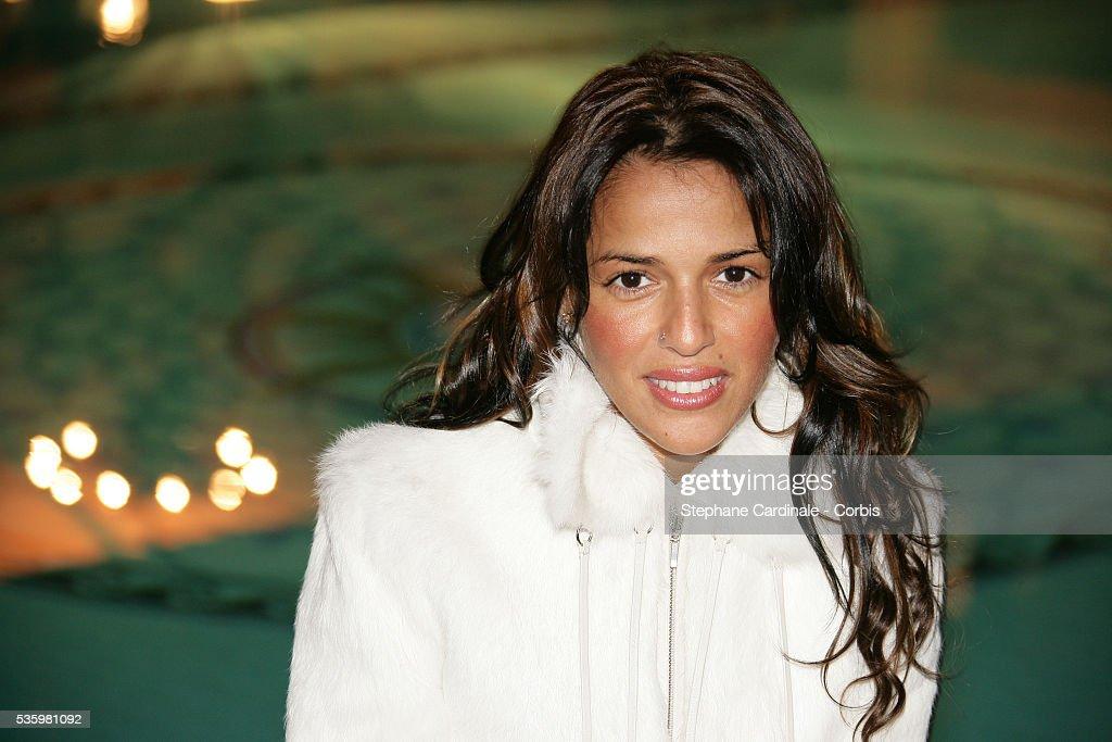 French singer Nadiya in Cannes.
