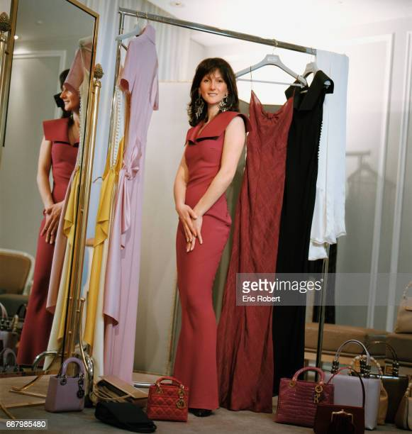 French singer Nayah attends a dress fitting at Christian Dior Nayah was a contestant in the 1999 Eurovision Song Contest