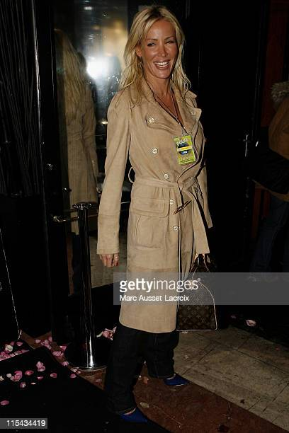 French singer Ophelie Winter attends The Police photocall at the VIP Room on Champs Elysees September 28 2007 in Paris France