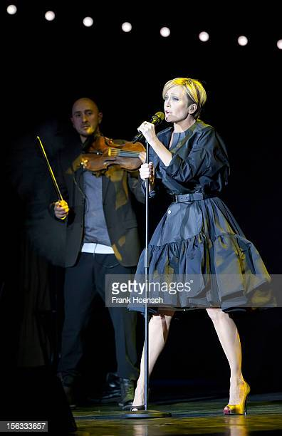 French singer Patricia Kaas performs live during a concert at the Admiralspalast on November 13 2012 in Berlin Germany