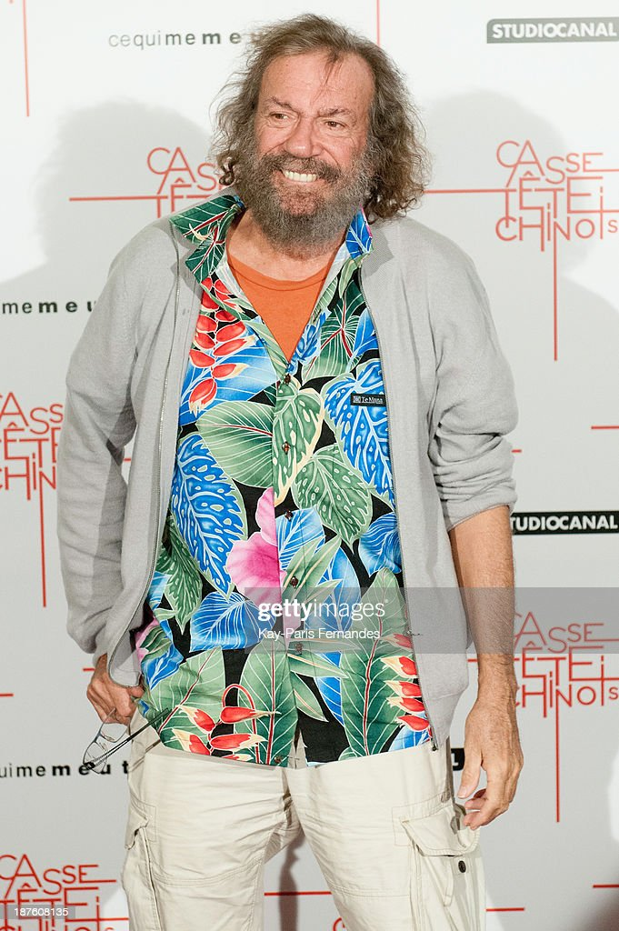 French singer Pierre Antoine Muraccioli know as 'Antoine' attends the 'Casse Tete Chinois' Paris Premiere at Le Grand Rex on November 10, 2013 in Paris, France.