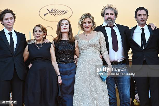 French singer Raphael Algerian actress Tassadit Mandi French actress Isabelle Huppert FrenchItalian actress Valeria BruniTedeschi French actor...