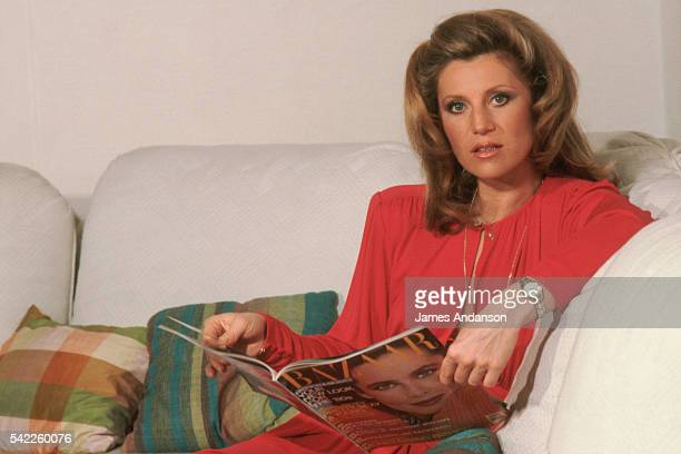 French Singer Sheila at Home