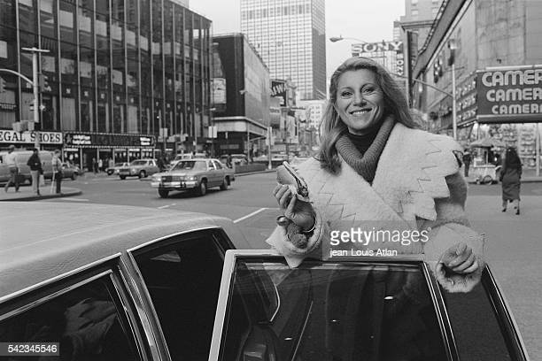 French Singer Sheila in New York City