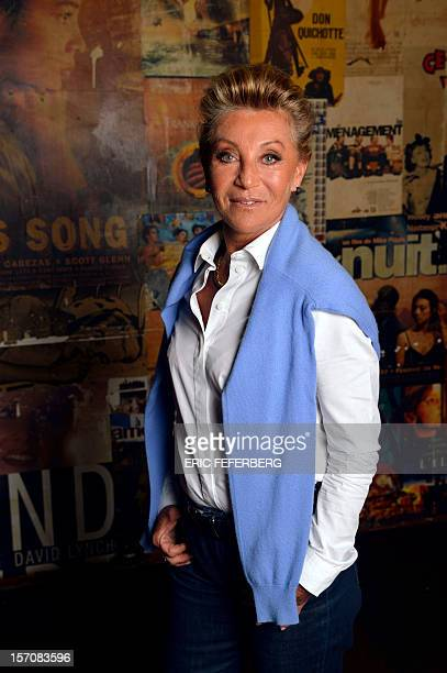 French singer Sheila poses on November 28 2012 in Paris AFP PHOTO /ERIC FEFERBERG