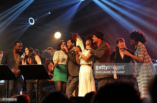 French singer Sly Johnson Israeli singer Yael Naim French singer Camelia Jordana British singer Hugh Coltman British singer Lianne La Havas French...