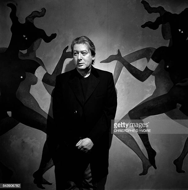 French Singer Songwriter and Actor Alain Bashung