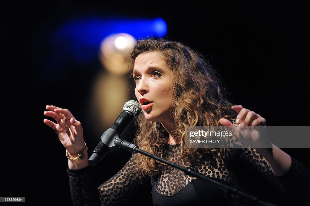 french singer sophie maurin performs on stage during the 29th edition pictures getty images. Black Bedroom Furniture Sets. Home Design Ideas