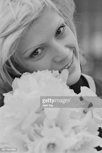French singer Séverine the day after her win for Monaco at the Eurovision Song Contest in Dublin 4th April 1971