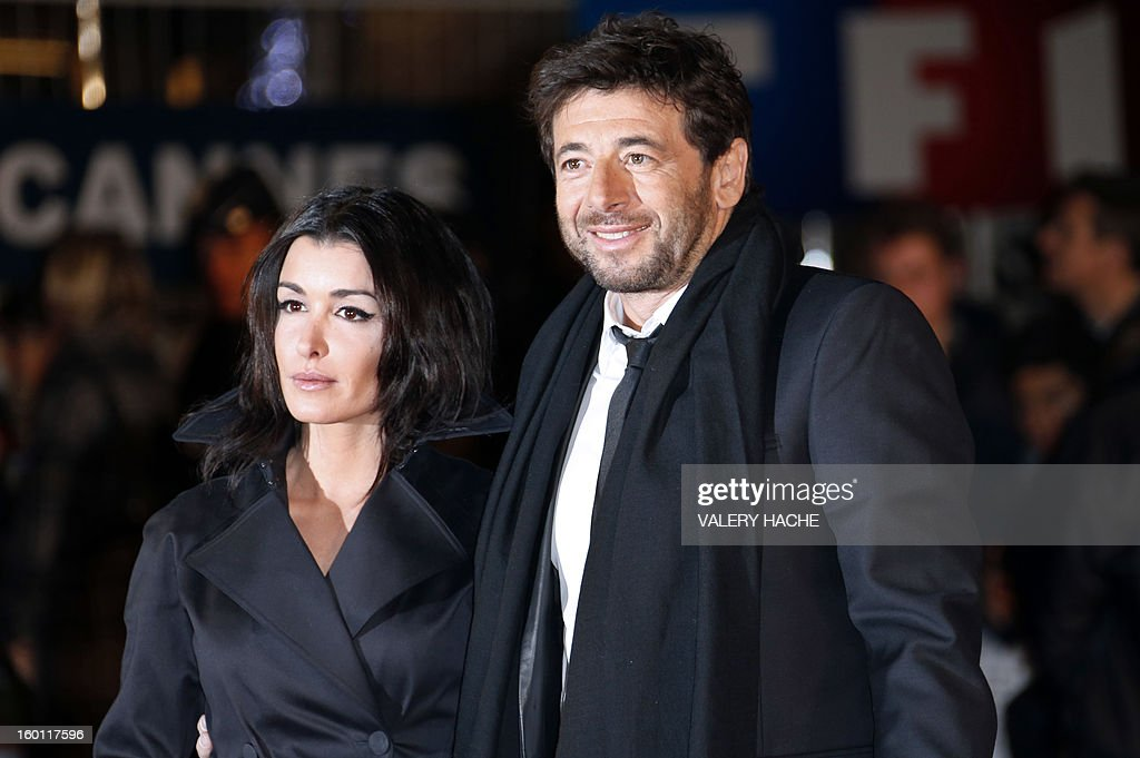 French singers Jenifer (L) and Patrick Bruel pose upon arrival at the Palais des Festivals during the 14th Annual NRJ Music Awards on January 26, 2013 in Cannes, southeastern France. News that the global music industry has finally turned the corner and is on the road to recovery should help get the annual four-day gathering of many of the world's top music execs at the MIDEM trade fair that opens here Saturday off to a good start.
