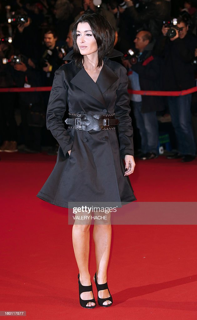 French singers Jenifer poses upon arrival at the Palais des Festivals during the 14th Annual NRJ Music Awards on January 26, 2013 in Cannes, southeastern France. News that the global music industry has finally turned the corner and is on the road to recovery should help get the annual four-day gathering of many of the world's top music execs at the MIDEM trade fair that opens here Saturday off to a good start.