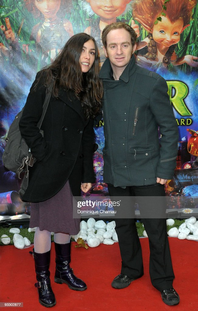 French singers <a gi-track='captionPersonalityLinkClicked' href=/galleries/search?phrase=Olivia+Ruiz&family=editorial&specificpeople=763226 ng-click='$event.stopPropagation()'>Olivia Ruiz</a> (L) and Mathias Malzieu attend the Paris premiere of 'Arthur and the Revenge of Maltazard' at Cinema Gaumont Marignan on November 22, 2009 in Paris, France.