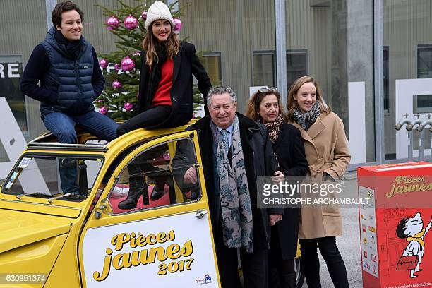 French singers Vianney and Joyce Jonathan Professor Claude Griscelli Foundation Hopitaux de ParisHopitaux de France deputy generalsecretary Anne...