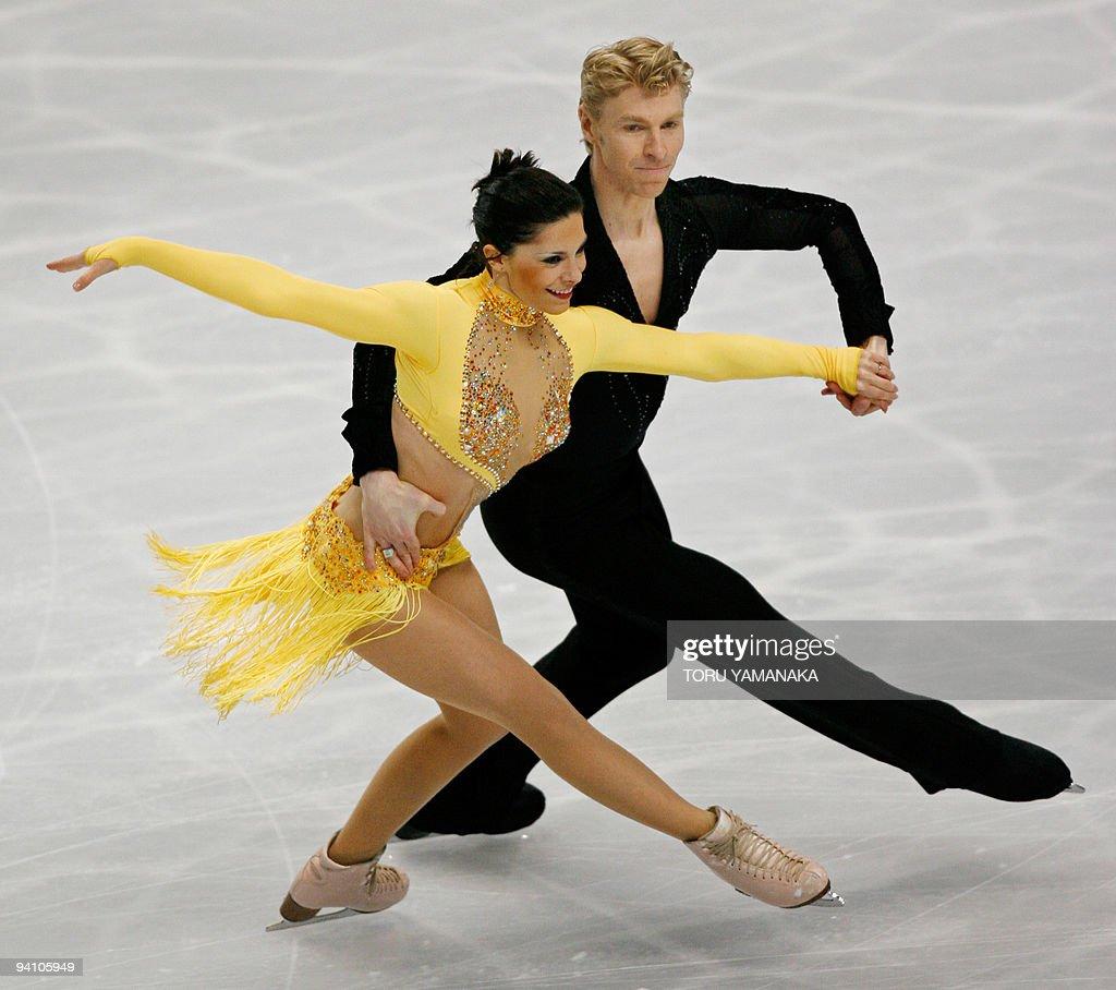 Charlie And Meryl Skating
