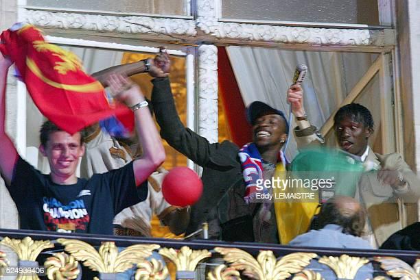 French Soccer Championship Season 20032004 Last match Lyon vs Lille Lyon is the French Soccer Champion for the third consecutive year Championnat de...