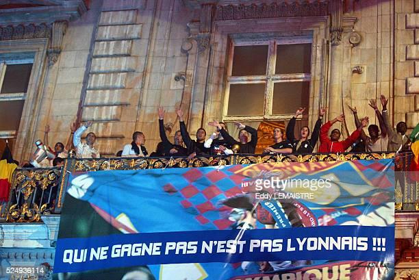 French Soccer Championship Season 20032004 Lyon vs Lille Lyon is the French soccer champion for the third consecutive year Championnat de France de...