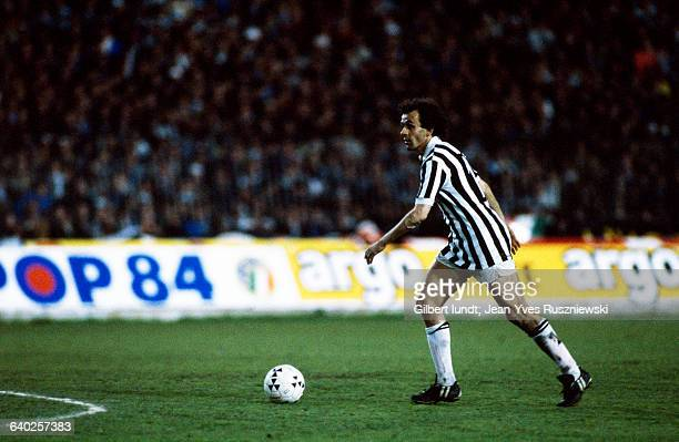 French soccer player Michel Platini from Juventus Turin