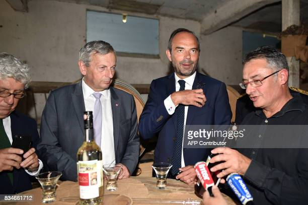 French Socialist member of parliament Philippe Martin French La Republique En Marche party MP JeanRene Cazeneuve French Prime Minister Edouard...