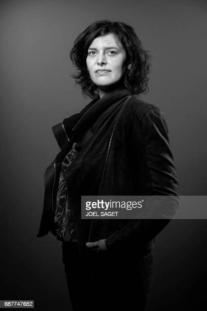 French Socialist Party member and former Labour minister Myriam El Khomri poses during a photo session in Paris on May 22 2017 / AFP PHOTO / JOEL...
