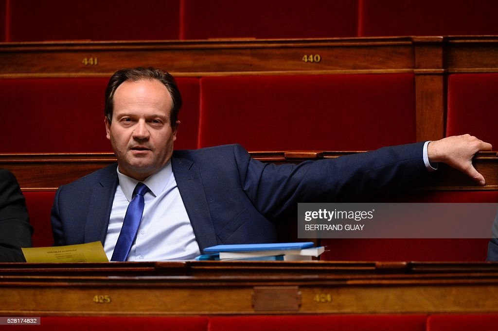 French Socialist Party (PS) MP Jean-Marc Germain attends a debate on the controversial labour reform bill at the French National Assembly in Paris, on May 4, 2016. French government says the bill is designed to unlock France's rigid labour market and cut stubbornly high unemployment of around 10 percent -- the issue that has dogged Socialist President Francois Hollande's four years in power.
