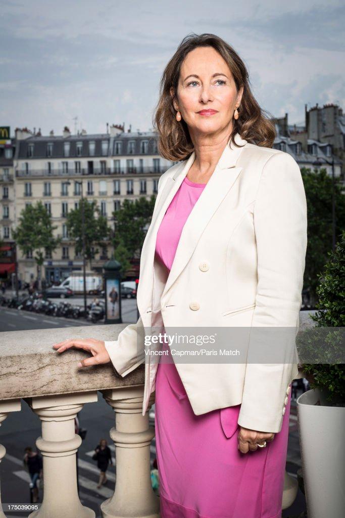 Segolene Royal, Paris Match Issue 3349, July 31, 2013