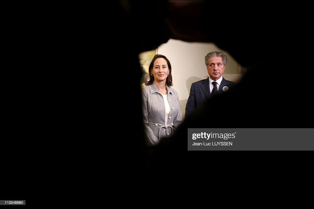 French Socialist Presidential Candidate <a gi-track='captionPersonalityLinkClicked' href=/galleries/search?phrase=Segolene+Royal&family=editorial&specificpeople=546504 ng-click='$event.stopPropagation()'>Segolene Royal</a> On Visit In Lebanon During A Tour Of Middle East In Beirut, Lebanon On November 30, 2006 - <a gi-track='captionPersonalityLinkClicked' href=/galleries/search?phrase=Segolene+Royal&family=editorial&specificpeople=546504 ng-click='$event.stopPropagation()'>Segolene Royal</a> offers her condolences to former Lebanese President <a gi-track='captionPersonalityLinkClicked' href=/galleries/search?phrase=Amin+Gemayel&family=editorial&specificpeople=707662 ng-click='$event.stopPropagation()'>Amin Gemayel</a>, father of assassinated Industry Minister Pierre Gemayel.