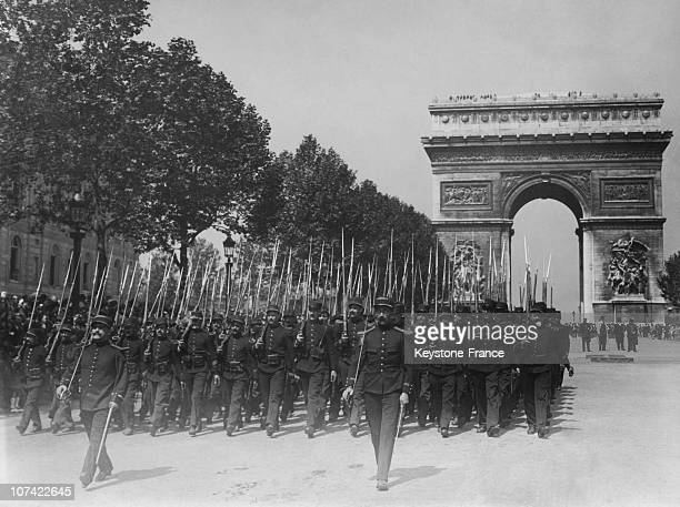 French Soldiers Before 1914
