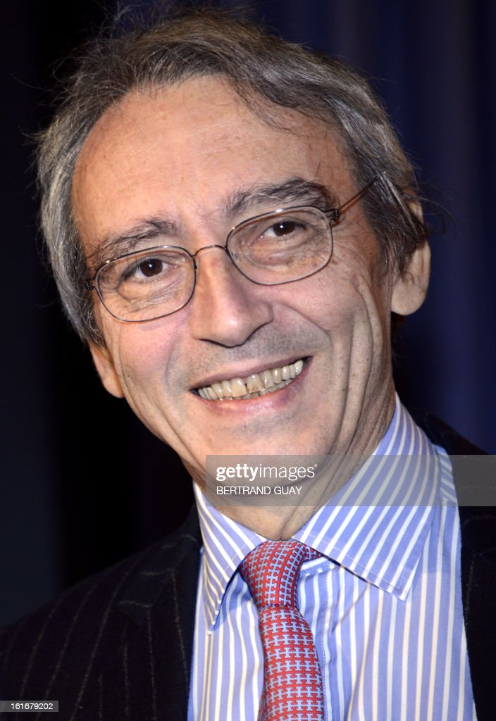 French spirit Pernod Ricard group's Vice-President and General Director Pierre Pringuet attends a press conference to present the 2012-2013 half-yearly results, on February 14, 2013 in Paris.