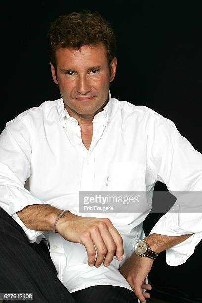 French sports journalist Pierre Sled