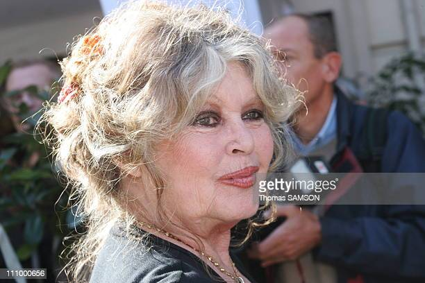 French star Brigitte Bardot at the 20th anniversary of her foundation in Paris France on September 28th 2006