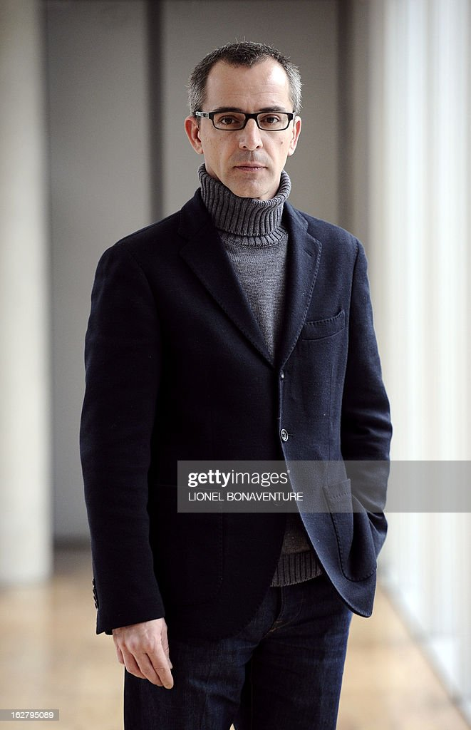 French state-run television group 'France Televisions' director of the programs for 'France 3' channel, Thierry Langlois poses on February 27, 2013 at the group's headquarters in Paris. AFP PHOTO LIONEL BONAVENTURE