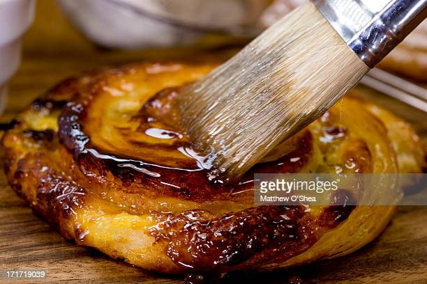 French style breakfast pastry; Pain au Raisin AKA