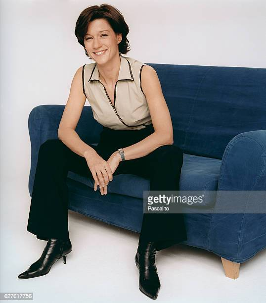 French television broadcaster and journalist Carole Gaessler