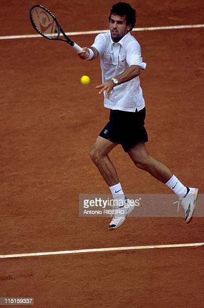 French Tennis Open at RolandGarros in Paris France on June 06 2000 Cedric Pioline
