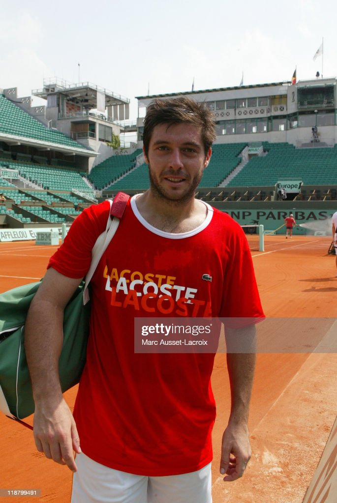 2007 Roland Garros French Open - Sebastien Grosjean - May 25, 2007