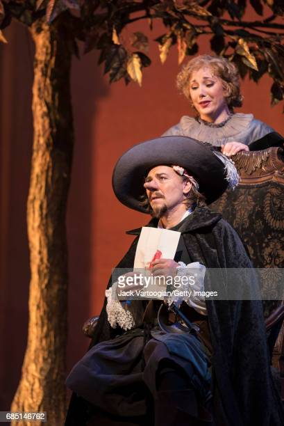 French tenor Roberto Alagna and American soprano Jennifer Rowley perform at the final dress rehearsal prior to the season premiere of the...