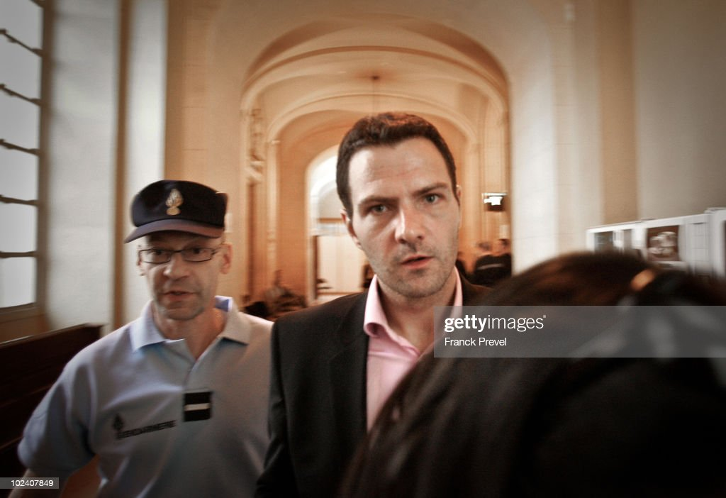 French trader <a gi-track='captionPersonalityLinkClicked' href=/galleries/search?phrase=Jerome+Kerviel&family=editorial&specificpeople=4840386 ng-click='$event.stopPropagation()'>Jerome Kerviel</a>, accused of unauthorised deals which cost French bank Societe Generale 4.9 billion Euros, attends the penultimate day of hearings, on June 24, 2010 in Paris, France. Former junior trader Kerviel has been blamed by French bank Societe Generale for 4.9 billion Euros ($6.03 billion) of losses in early 2008. The criminal court will rule on the charges on October 5, 2010, following three weeks of hearings.